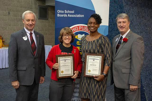 Congratulations on your awards Mrs. Mallory and Mrs. Sterner! Thank you for your dedication to the children of Trotwood-Madison City Schools.