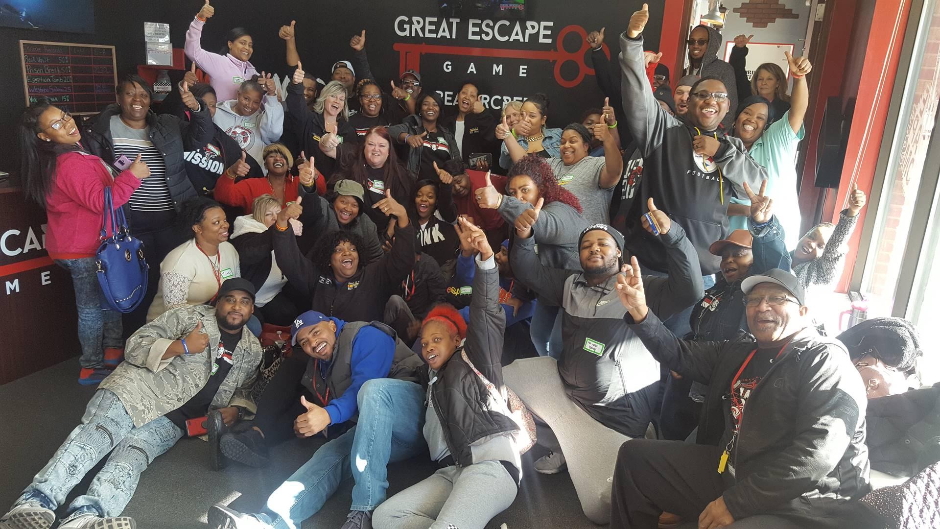 The escape room!